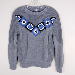 Urban Outfitters | Gray Blue Knit Sweater